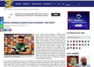 Bruno Henrique - Terceiro Tempo - 17/05/2020