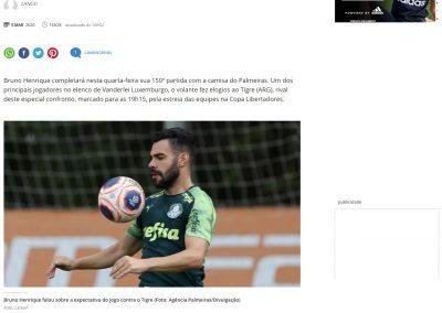 Bruno Henrique - Terra - 03/03/2020