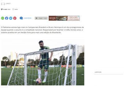 Bruno Henrique - Terra - 12/08/2020