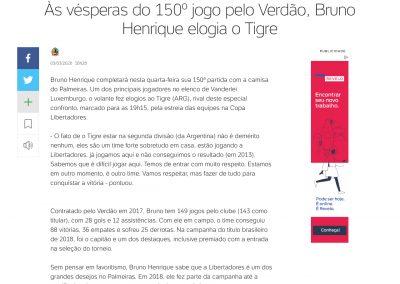 Bruno Henrique - Uol - 03/03/2020