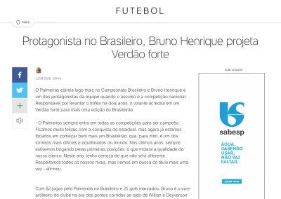 Bruno Henrique - Uol - 12/08/2020