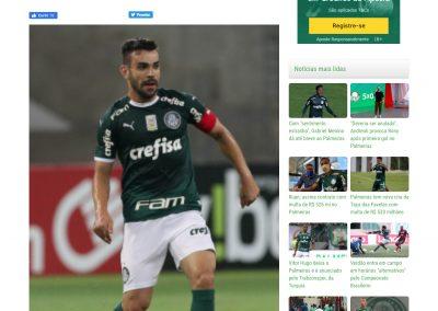 Bruno Henrique - Verdão Web - 01/10/2020