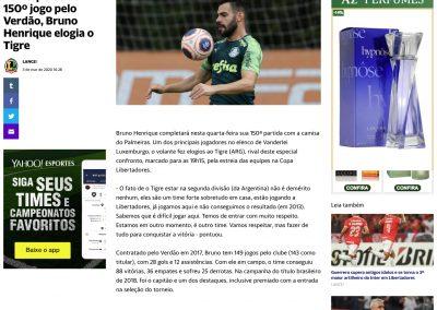 Bruno Henrique - Yahoo - 03/03/2020