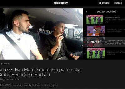 Bruno Henrique - Globo Esporte - 06/10/2018