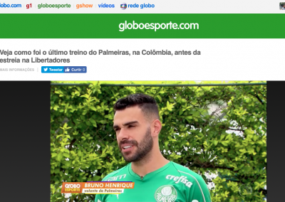 Bruno Henrique - Globo Esporte - 06/03/2019