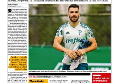 Bruno Henrique - Lance - 18/07/2018