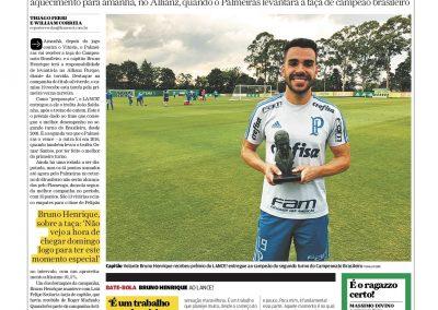 Bruno Henrique - Lance - 01/12/2018