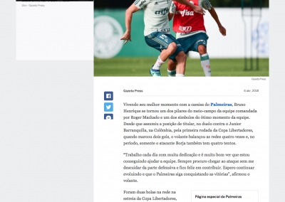 Bruno Henrique - ESPN - 06/04/2018