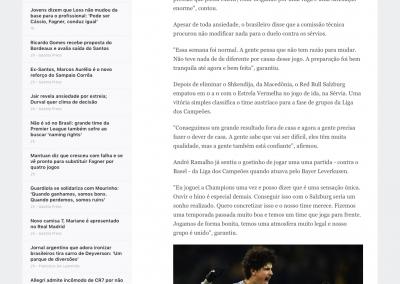 André Ramalho - ESPN - 29/08/2018