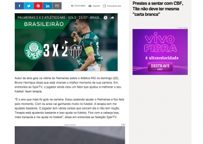 Bruno Henrique - UOL - 23/07/2018