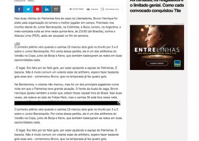 Bruno Henrique - UOL - 03/05/2018