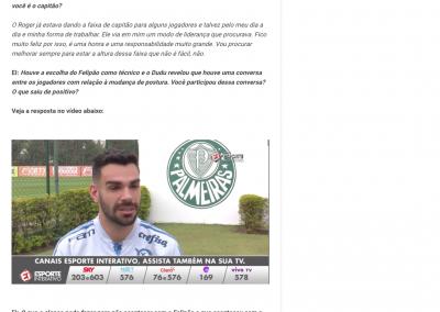 Bruno Henrique - Esporte Interativo - 30/07/2018