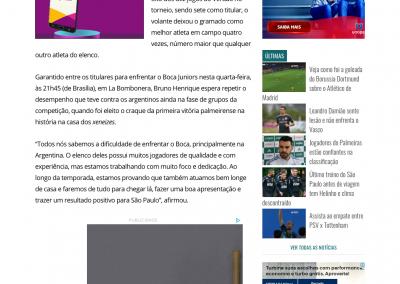 Bruno Henrique - Gazeta Esportiva - 23/10/2018