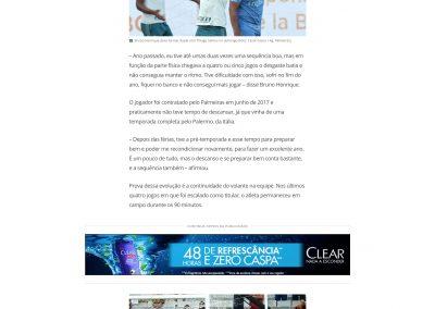 Bruno Henrique - GloboEsporte.com - 11/05/2018