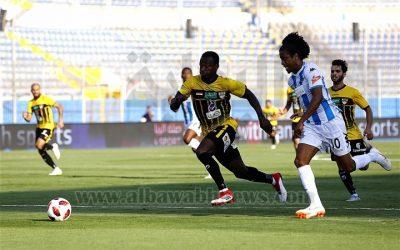 Keno comemora primeiro gol pelo Pyramids em empate no Egito