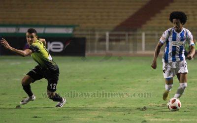Keno comemora mais um gol, invencibilidade e liderança do Pyramids no Campeonato Egípcio