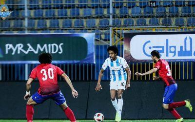 Destaque do Pyramids, Keno dá assistência para o gol da vitória por 2 a 1 no clássico contra o Al Ahly