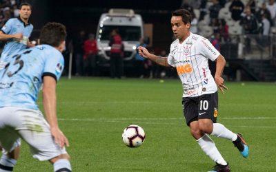 Agora no top 3 de jogos na Arena, Jadson relembra primeiro gol do Corinthians em Itaquera diante do Botafogo