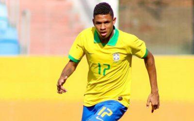 Promessa da base do Grêmio, Diego Rosa fecha participação em amistosos da seleção na Inglaterra com gol e avalia preparação do Brasil para a Copa do Mundo Sub-17