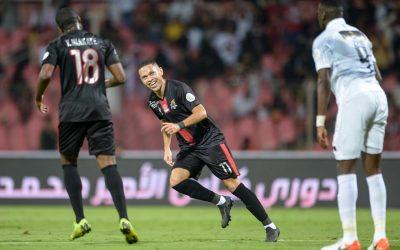 Em duelo de brasileiros, Marcos Guilherme marca e dá a vitória ao Al Wehda sobre o time de Romarinho