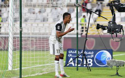 Keno volta a marcar pela primeira vez após lesão, dá assistência e comanda Al-Jazira em goleada pela Copa do Golfo Arábico