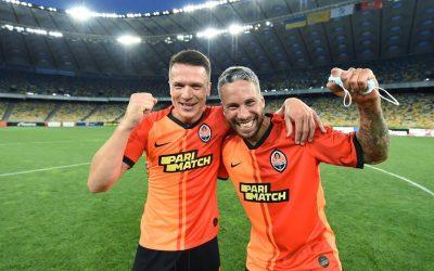 Marlos vibra com conquista do Campeonato Ucraniano pela quarta temporada seguida e com o seu 11º título pelo Shakhtar