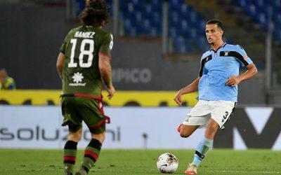 Luiz Felipe comemora retorno da Lazio à Champions League. Clube disputará a fase de grupos da competição após 13 anos