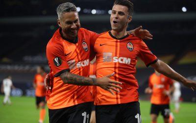 Marlos dá show de assistências e vibra com classificação do Shakhtar às semifinais da Liga Europa