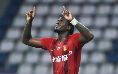 Markão marca terceiro gol em cinco jogos e comemora primeira vitória do Hebei Fortune no Chinês