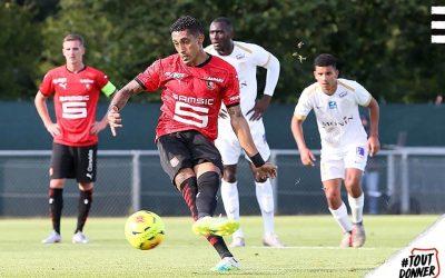 """Destaque do Rennes, Raphinha celebra vaga direta na fase de grupos da Liga dos Campeões: """"Fizemos história"""""""