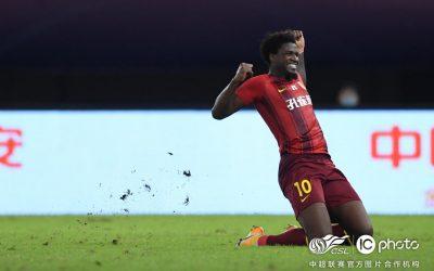 Homem-gol! Markão marca pelo quarto jogo consecutivo, garante vitória do Hebei e coloca o clube na zona de classificação para a próxima fase do Chinês