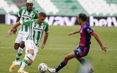 Emerson Royal comemora vitória sobre Real Valladolid e 100% do Betis no Campeonato Espanhol
