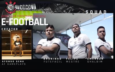 Com sede no CT Joaquim Grava, Corinthians sai na frente e é o primeiro clube do Brasil a ter Departamento Profissional de Futebol Virtual