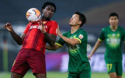 Markão marca pelo terceiro jogo seguido, chega a sete gols em 11 partidas na temporada e garante empate do Hebei na China