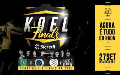 Com festa e presença do público, KOEL Clubs fecha disputa com quatro equipes lutando pelo título do maior campeonato de futebol virtual já realizado no Brasil