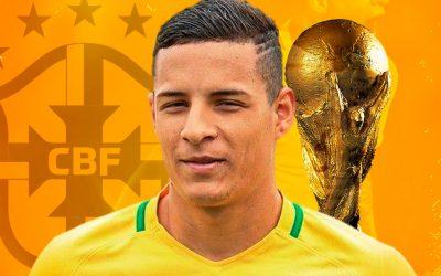Guilherme Arana comemora convocação para a seleção brasileira