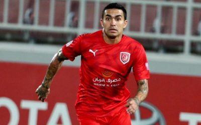 Dudu marca gol, dá três assistências e comanda goleada do Al Duhail sobre time de Léo Gamalho no Campeonato Catari