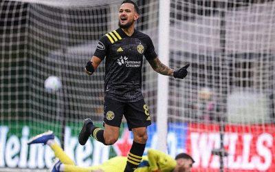 Em ótima fase, Artur marca o gol do título da Conferência Leste e coloca o Columbus Crew na grande final da Copa MLS