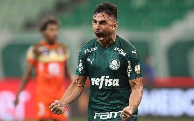 Segundo maior goleador do Palmeiras no Século XXI, Willian completará 200 jogos pelo clube contra o Libertad em busca de novas marcas na Libertadores