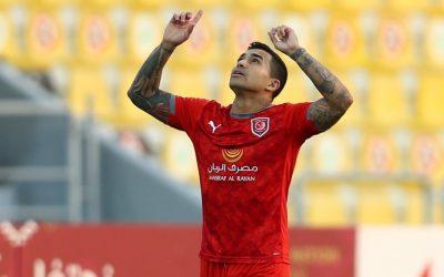 Dudu volta a marcar belo gol em nova vitória do Al Duhail e chega a quatro bolas na rede e sete assistências nos últimos seis jogos