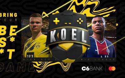 Com 16 clubes na disputa, KOEL Clubs está de volta para a segunda temporada do maior torneio de futebol virtual independente do Brasil