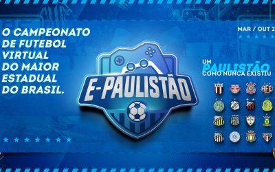 E-Paulistão: Federação Paulista de Futebol anuncia maior Estadual virtual do país