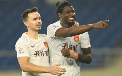 Markão estreia na temporada com gol e garante primeira vitória do Hebei Fortune na atual edição do Chinês