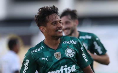 Palmeirense com mais participações em gols na temporada, Gustavo Scarpa comemora boa fase e projeta decisão do Paulistão contra o São Paulo