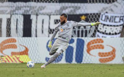 """Destaque do Atlético Mineiro, Everson vive a expectativa de completar 50 partidas pelo clube diante da Chapecoense: """"Privilégio alcançar uma marca como essa"""""""