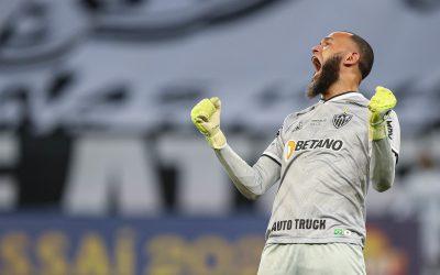 Em grande fase, Everson supera número de jogos de sua primeira temporada pelo Galo com média de gols sofridos reduzida pela metade