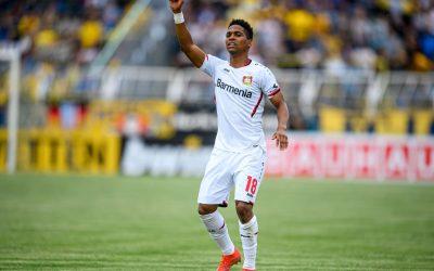 Estrangeiro com mais jogos na história do Leverkusen, Wendell inicia sua oitava temporada na Alemanha comemorando marca de 250 partidas pelo clube e classificação na Copa Pokal