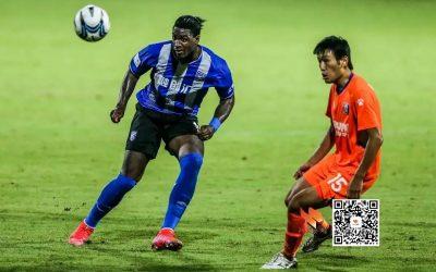 Titular pela primeira vez, Markão marca mais um gol e ajuda a garantir a classificação do Wuhan Three Towns na Copa da China