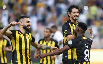 Bruno Henrique comemora assistência em cobrança de falta em vitória do Al Ittihad no Campeonato Saudita e projeta final da Copa Árabe dos Clubes Campeões