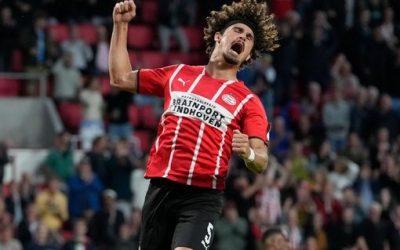 André Ramalho comemora atuação decisiva, primeiro gol pelo PSV e manutenção dos 100% de aproveitamento no Campeonato Holandês